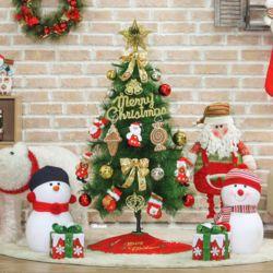 120cm 산타선물 솔잎 트리 풀세트트리 크리스마스트리