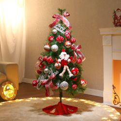 120cm 샬롯 솔잎트리 풀세트 전구포함 크리스마스트리