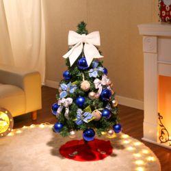 120cm 스마일파티 스카치 트리 풀세트 크리스마스트리