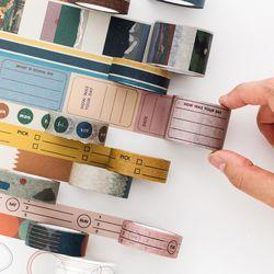 라이프앤피시스 페이퍼 테이프 15mm (11종)