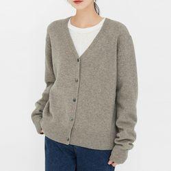 love wool v-neck cardigan