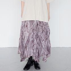 funky wrinkle skirts (pink)