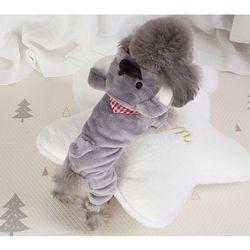 해피 러블리 강아지 옷 (L XL)