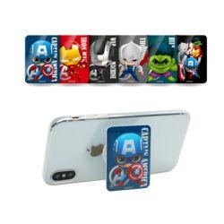 마블 정품 어벤져스 사각 SD 크리스탈 핸드폰스마트톡
