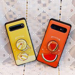 갤럭시S10플러스 (G975) Frutas 스마트 그립톡 카드 범퍼 케이스