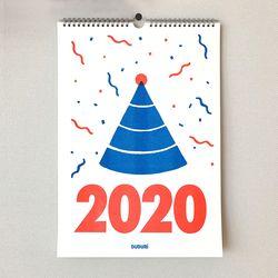 리소그래피 2020 벽걸이 달력