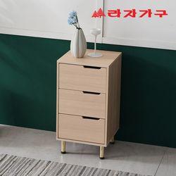 라티 미니멀 서랍장 400 3단