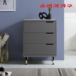 쎄이 골드 서랍장 600 3단
