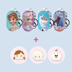갤럭시하드케이스 정품 디즈니 겨울왕국2 그립톡 세트