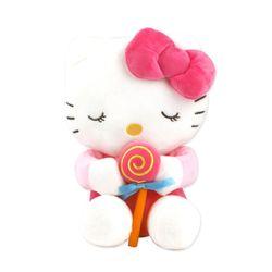 헬로키티 표정 봉제인형-막대사탕