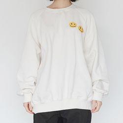 kitch smile sweatshirts (3colors)
