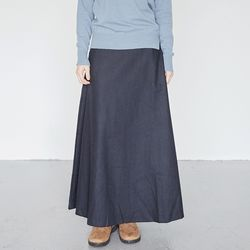 clean fit wool skirts (2colors)