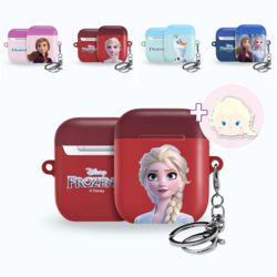 에어팟하드케이스 정품 디즈니 겨울왕국2 그립톡 세트