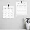 2020년 월간 계획표 및 위클리 투두 리스트 - 한정판