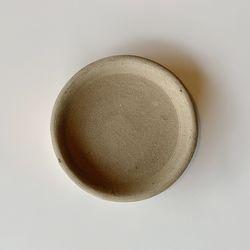 테라코타 이태리토분 화분받침대 라운드 15cm