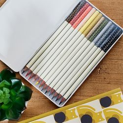 [올라카일리] 12색 틴케이스 색연필 세트