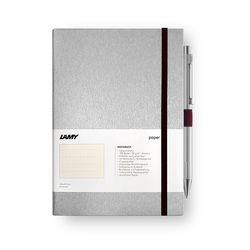 LAMY 라미 하드커버 노트북 A6 & 206 Logo유성펜 Set
