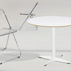 맥-원형 테이블(800사이즈)