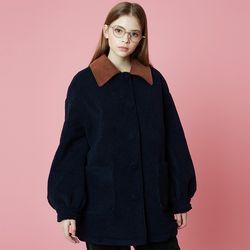 Fleece Coat [Navy]