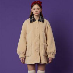 Fleece Coat [Ivory]