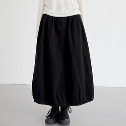 pumpkin cotton skirts (2colors)