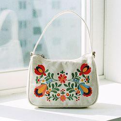 Lady hobo bag (white)