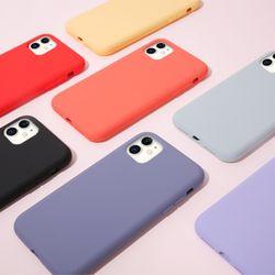 아이폰11 실리콘 케이스