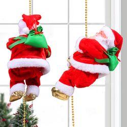 멜로디 줄타는 산타 싼타 크리스마스 장식품