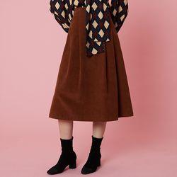 Wendy Skirt [Brown]