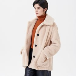 DUMBLE MUSTANG COAT BEIGE