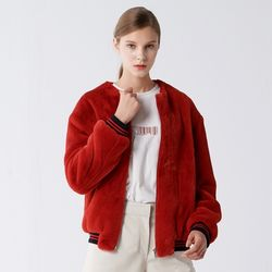 SHORT MUSTANG BLOUSON RED