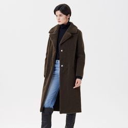 REVERSIBLE MUSTANG  LONG COAT KHAKI
