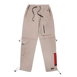 WASHED TECH JOGGER PANTS BEIGE