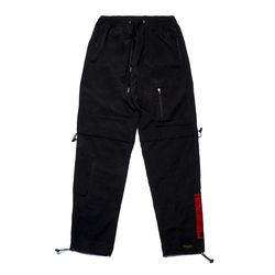 WASHED TECH JOGGER PANTS BLACK