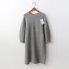 Laine Cashmere N Wool Puff Dress  - 9부소매