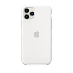 [정품]아이폰 11 Pro 실리콘 케이스 - 화이트