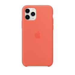 [정품]아이폰 11 pro 실리콘 케이스 - 클레멘타인(오렌지)