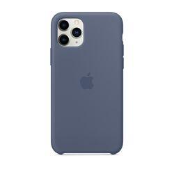 [정품]아이폰 11 Pro 실리콘 케이스 - 알래스칸 블루