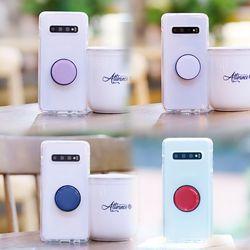 아이폰X NuClearTok 그립톡 투명 젤리 케이스