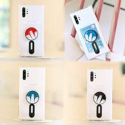 갤럭시노트8 (N950) Poner-3OsoTok 카드 젤리 케이스