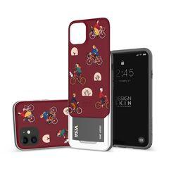 아이폰11 슬라이더 그래픽 라이딩 카드케이스