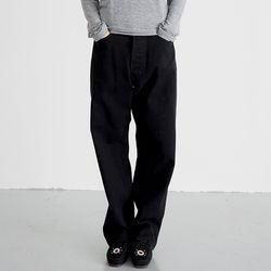 over cotton pants (black)