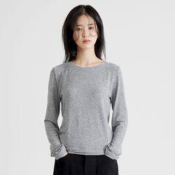 feminine slim tee (gray)