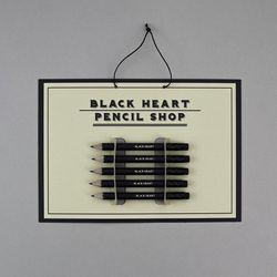블랙 미니 연필 세트