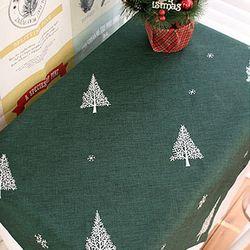 린넨 트리무늬 테이블보 (2color)