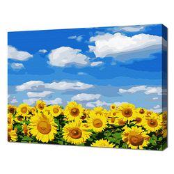 [명화그리기]3040 푸른 하늘의 해바라기 19색 풍경화