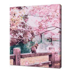 [명화그리기]4050 벚꽃 향기 23색 풍경화