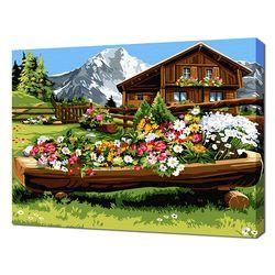 [명화그리기]4050 알프스의 상쾌한 아침 19색 풍경화
