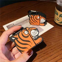 에어팟 귀여운 호랑이 캐릭터 실리콘 케이스 키링세트