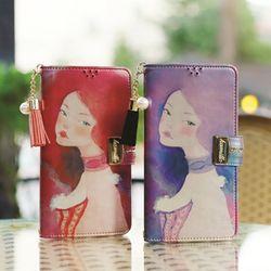 갤럭시노트8 (N950) Encanto-Sueno-T 지퍼 지갑 다이어리 케이스